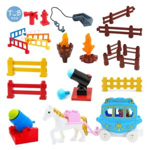 Big Building Blocks Princess Horse