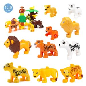 Line Animal Figure Vertebrate Toy Block