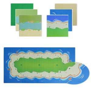 Line Patterned Art Painting Toy Block