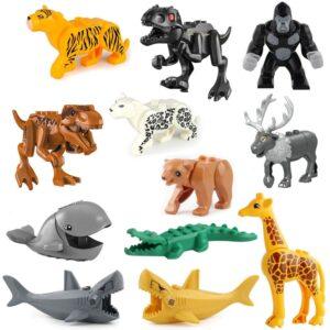 Figure Fur Terrestrial Animal Toy Block