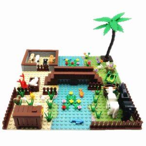 Tree Plant Construction Set Toy Block