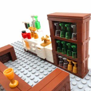 City Bar Shop MOC Building Blocks