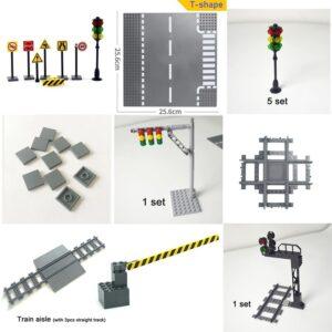 Street Plastic Engineering Toy Block