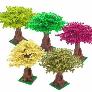 Tree Art Toy Block Grass Plants