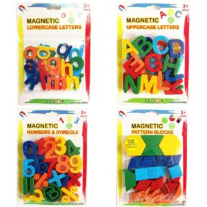 Magnetic Learning Alphabet Letters