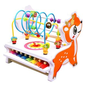 Chidlren Abacus Toy Around Beads