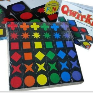 Educational Toys Qwirkle Wooden Chess