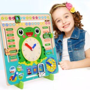 Circle Travel Toy Gambling Clock