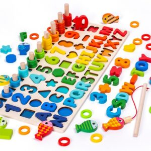3D Wooden Toys Shape Matching