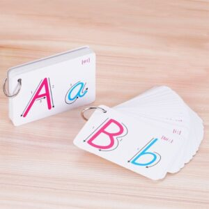 26 Letter English Flash Card