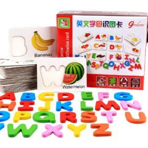 Alphabet Letter Cards Puzzles