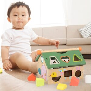 Children's Wooden Toys Geometric Shape