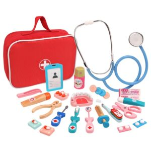 Wooden Simulation Medicine Box