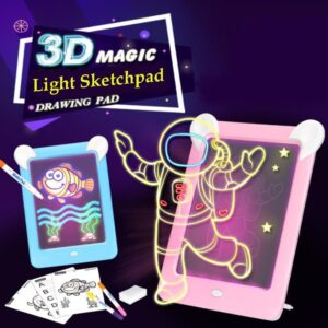 3D Magic LED Writing Board