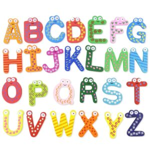 Wooden Letter Magnet Educational Toy