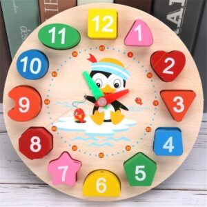 Button Porcelain Sweetness Clock