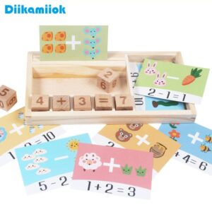 Mathematical Game Box Educational Toy
