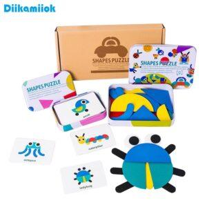 3D Puzzles Montessori Wooden Toys