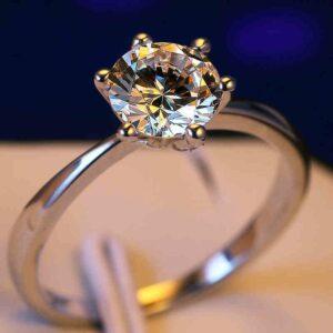 Luxury Small Diamond Ring