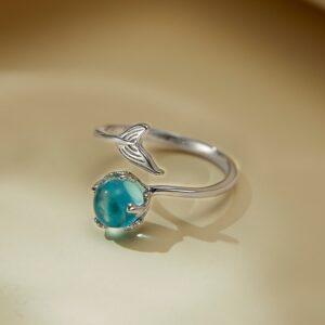 Cute Small Mermaid Tail Ring