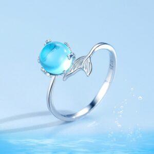 Boho Mermaid Tail Ring