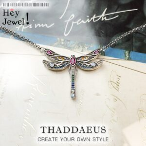 Playful Dragonfly Link Chain