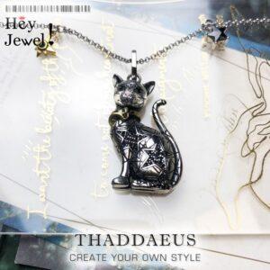 Pendant Necklace Magic Cat