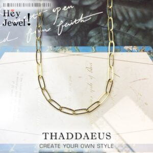 Seductively Gold Charm Necklace