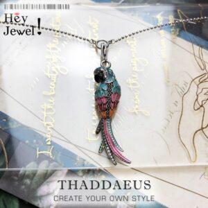 Charm Necklace Parrot Bird