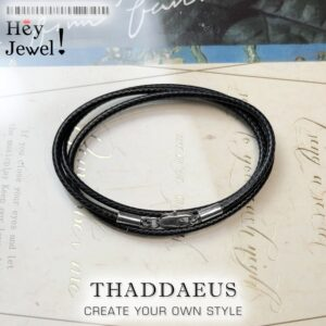 Strap Leather Ribbon Necklace