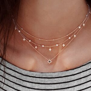 Boho Pearl Patterned Necklace