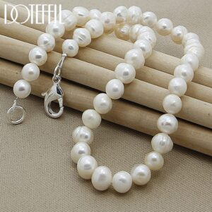 Natural Pearl Chain Necklace
