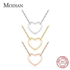 Hearts Simple Pendant Necklaces