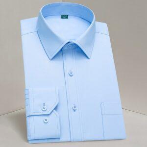 Classic Long Sleeve Dress Shirts