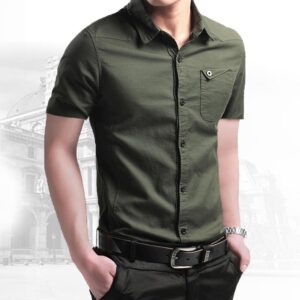 Breathable Military Men Shirts