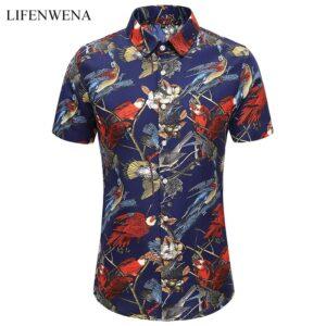 Fashion Printed Beach Holiday Shirt