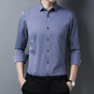 Long Sleeve Men Luxury Shirt