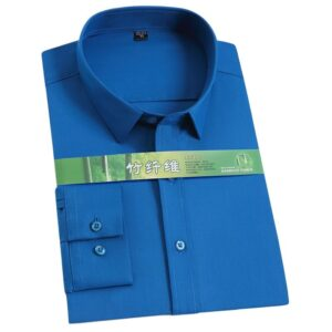 Smooth Solid Men Dress Shirts