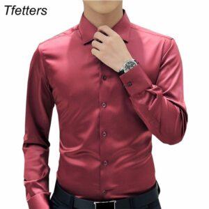 Men Luxury Shirts Wedding Dress