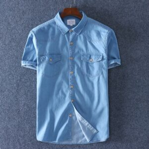 100% Cotton Denim Fashion Shirt