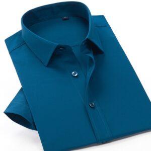 Men Summer Short Sleeved Shirt