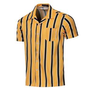 Summer Fashion Striped Men Shirt