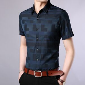 Summer Plaid Casual Style Shirts