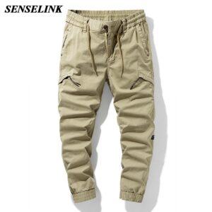 Summer Khaki Outdoor Cargo Pants