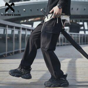 Cargo Pant Zipper Harem Trousers