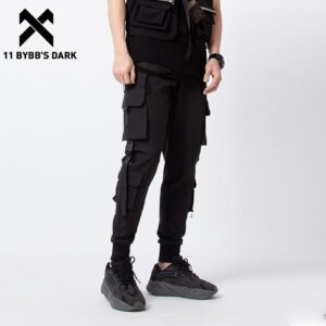 Military Camouflage Denim Cargo Trousers