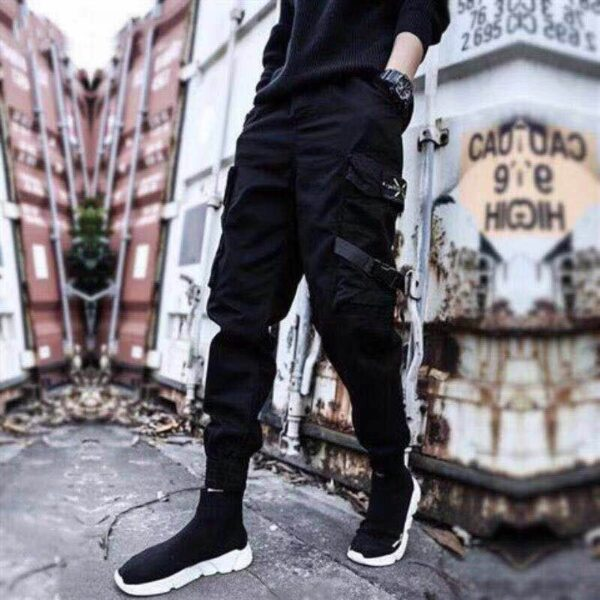 Harajuku Cotton Fashion Cargo Pants