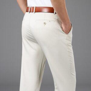 Bamboo Fiber Cotton Loose Pants
