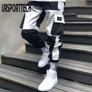 Cargo Men Trousers Hip Hop Pants