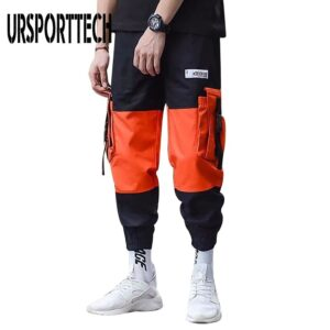 Casual Trousers Harem Cargo Pants